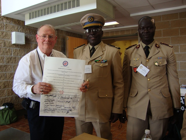 Pat and Delegation from Senegal Africa.JPG