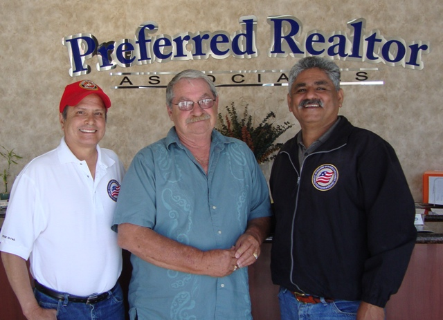 Albert Guzman - Perris Mayor Al Landers - Albert R Renteria Founder CEO