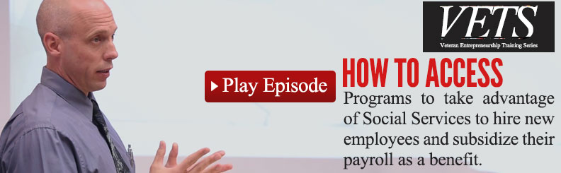 Episode 03 - Learn How Social Services Will Pay You to Hire New Employees video