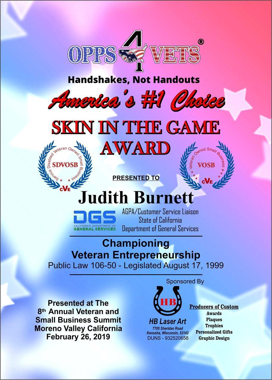 Judith Burnett